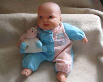 Vintage Berenguer Baby Doll w/Original Clothing Vintage Baby Dolls Free Shipping
