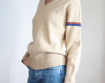 op vneck sweater