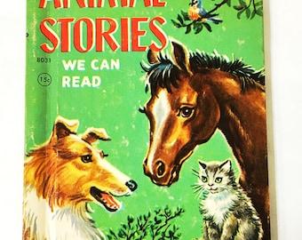 FIRST EDITION 1947 publication.  Animal Stories Book.  Little Golden Book 8031 Junior Elf Book.  LGB