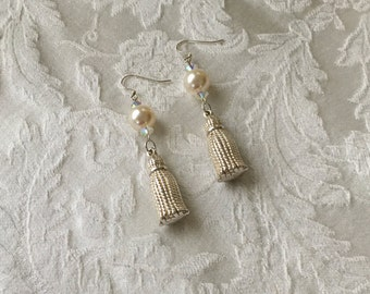Vintage Tassel Bead Earrings