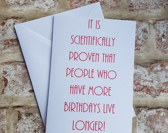 Funny birthday card, Birthday card, Funny card, Friend birthday card, Card for him, Card for her, Best friend card, Birthday Gift,