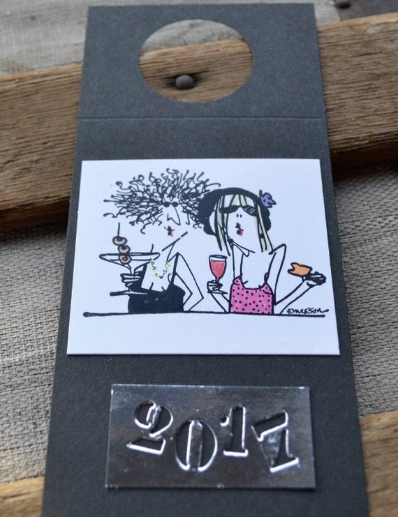 Girlfriends Wine Tag