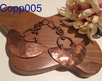 Chilean Copper Earring