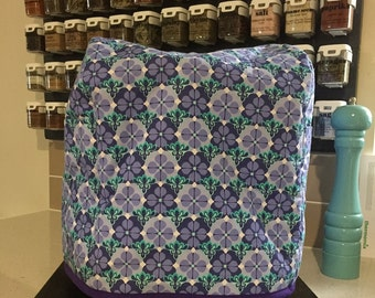 Thermomix Cover – Purple and Green – Purple Lining