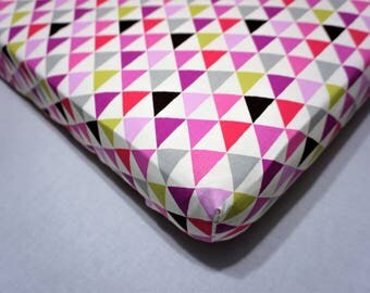Tribal crib sheet girl baby bedding pink nursery tribal bedding nursery pink tribal nursery pink purple bedding pink toddler girl sheet