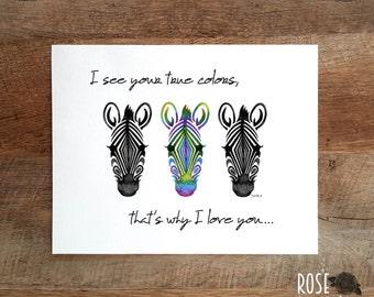 Lyrics song, poster print, zebra