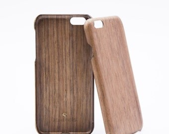 iPhone case made of wood including individual engraving