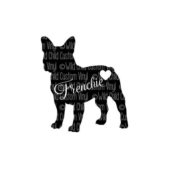 french bulldog svg frenchie svg french bull dog cut file
