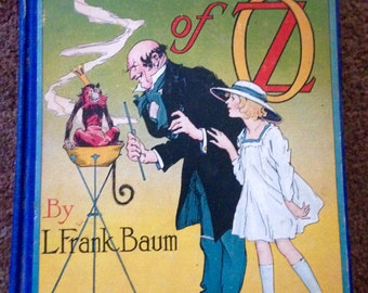 The Magic of Oz, by l. Frank Baum, Reilly publishers 1919