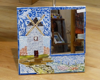 Trencadís craft mirror