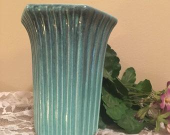 Royal Haeger Drip Glaze Vase