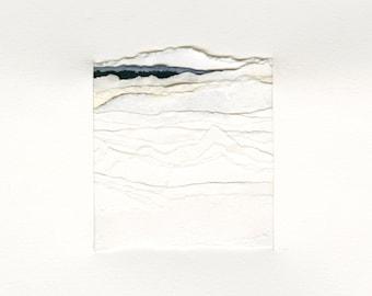 Abstract Arctic Landscape | Archival Fine Art Print | Collage 2