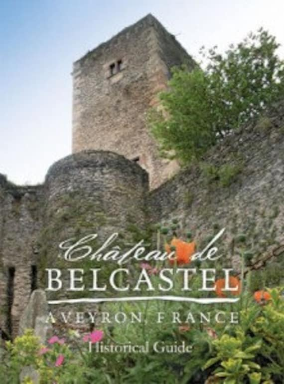 Historical book of the Château de Belcastel