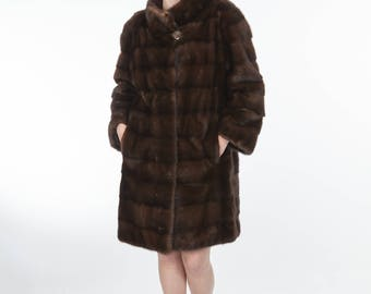 Mink fur coat ! Latest fur fashion trends at FurBrand!
