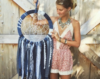 Denim Dreamcatcher