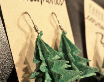 Paper Tree Earnaments
