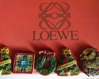 LOEWE, Christmas ornament collection