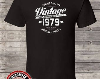 Finest Quality Vintage Since 1979, 39th birthday gifts for Men, 39th birthday gift, 39th birthday tshirt, gift for 39th Birthday Party