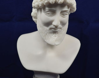 Odysseus sculpture bust hero of Homer's epic poem the Odyssey statue