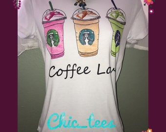 Sale! Cute Starbucks fashion t-shirt