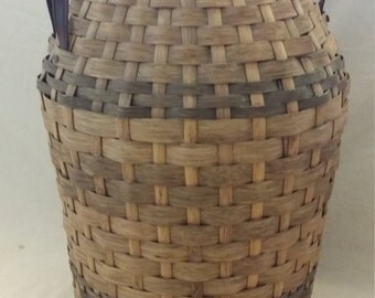 Amish Hand-made Milk can basket