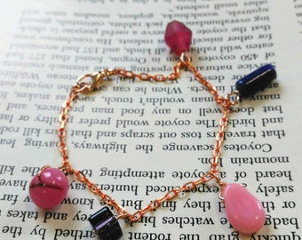Quirky charm bracelet