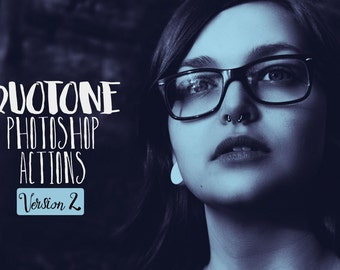 Duotone Photoshop Actions Vol. 2