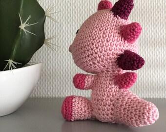 Amigurumi crochet Dragon