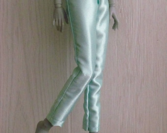 Mint Dream Slim MSD BJD Pants