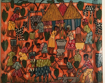 Original Zimbabwe Artist Project Painting