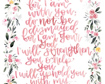 Isaiah 41:10 Print