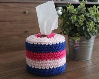 Crochet Tissue Dispenser - Toilet Paper Cover