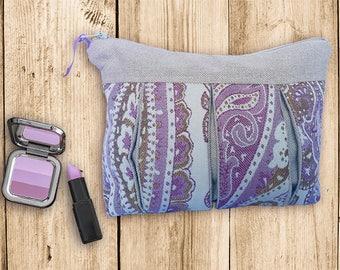 Folding clutch purple