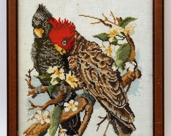 Feathered Friends Cross-Stitch