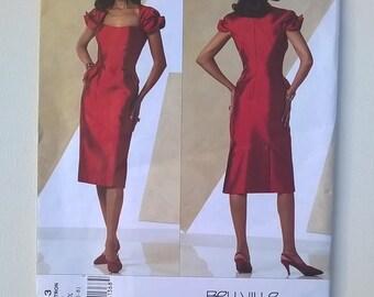 Bellville Sassoon Designer Pattern - Vogue Designer Original Pattern 2943 -  Dress -- Sizes 4, 6, 8-  Uncut