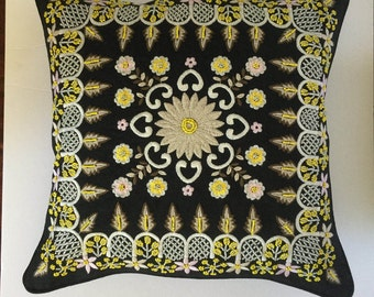 Handmade decorative pillow