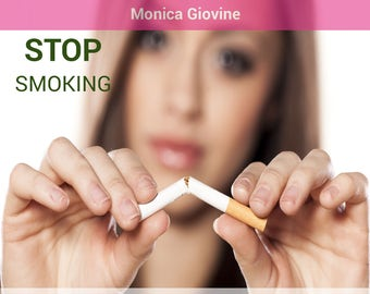 Stop Smoking - NLP Induction to stop smoking and throw away the cigarettes - Audio MP3 - IN ENGLISH