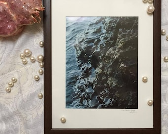 Lake Superior Rocks Wall Art Photograph