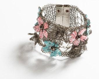 Spring Bracelet made by