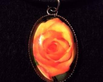 My friend the Rose pendant Locket