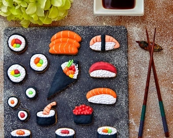 Sushi Cookie Cutter Set