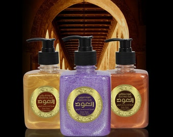 Odlux Oud Liquid Soap 6 Scents