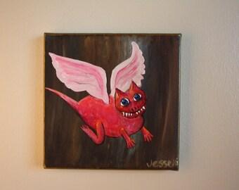 Portia Pink Dragon
