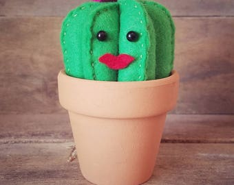 Señorita Margarita | Felt Cactus | Home Decor | Southwest Style | Nursery Decor