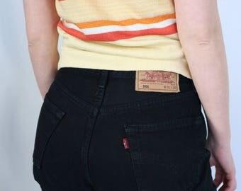 Vintage Black Levi's 501 Jeans, 30/32