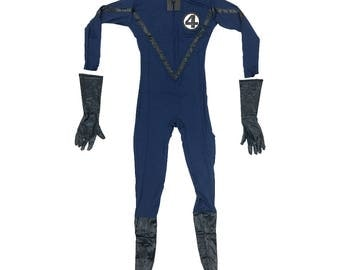Fantastic Four Costume Cosplay Spandex Movie Fant4stic 4 Comic Book Superhero Team Mister Mr. Invisible Woman Human Torch Suit High Quality