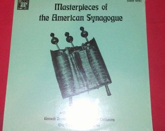 """Cantor Harold Orbach-""""Masterpieces Of Synagogue""""(12""""LP)(Mint/Factory Sealed)"""