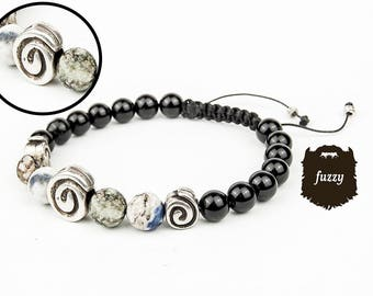 Tiger eye bangle, Men tiger eye, Men shambala, Men tribal jewelry, Men chunky bracelet, Men bracelet, Men hipster bracelet, Mens bangle