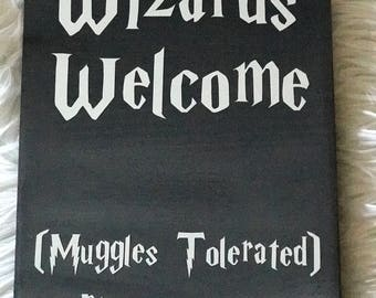 Harry Potter Welcome Sign