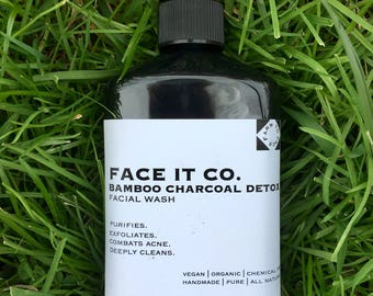 Liquid Bamboo Charcoal Detox Wash